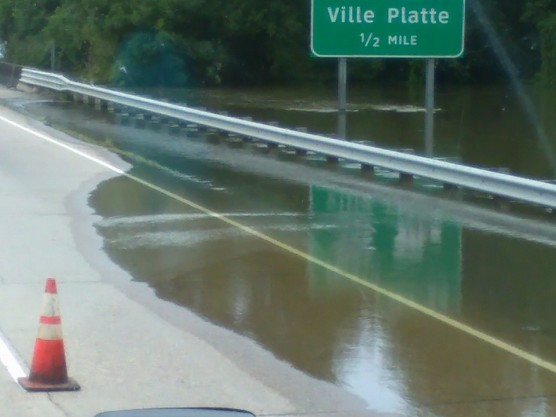 viewfromthetruck LA flooding