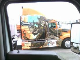 viewfromthetruck TX cool rig gun