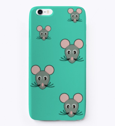 mouse face phone case